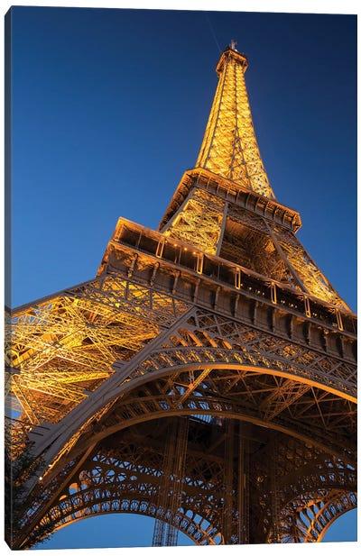 Eiffel Tower II Canvas Art Print