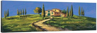Casolare in Toscana Canvas Art Print