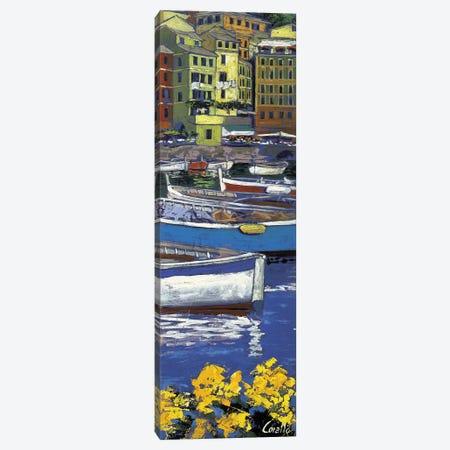 Porticciolo di Camogli Canvas Print #DCO1} by Daniela Corallo Canvas Art