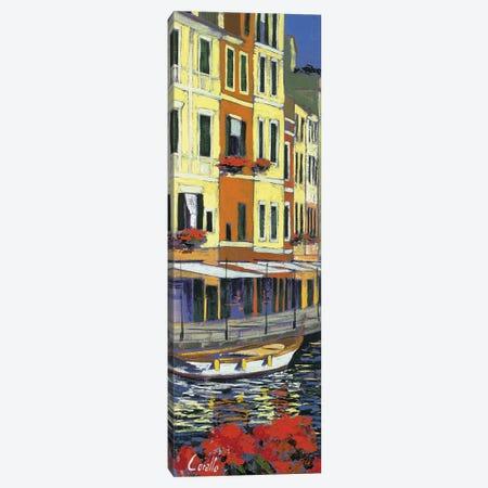 Promenade di Portofino Canvas Print #DCO2} by Daniela Corallo Canvas Art