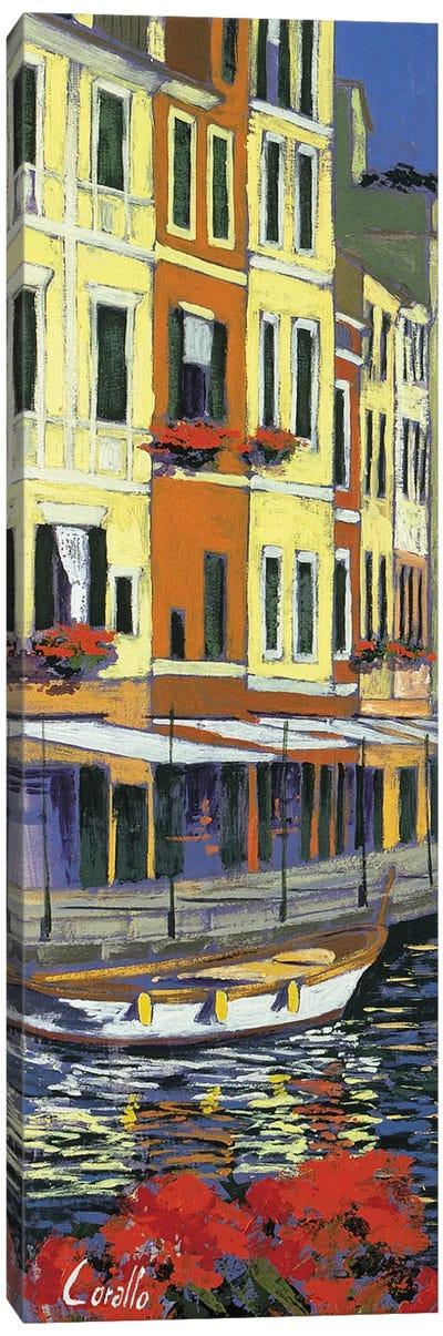 Promenade di Portofino Canvas Art Print