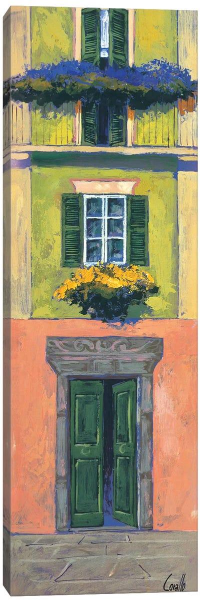 Balconi liguri I Canvas Art Print