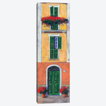 Balconi liguri II Canvas Print #DCO4} by Daniela Corallo Canvas Print