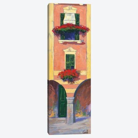 Balconi liguri III Canvas Print #DCO5} by Daniela Corallo Canvas Art Print
