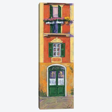 Balconi liguri IV Canvas Print #DCO6} by Daniela Corallo Art Print