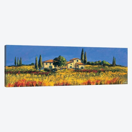 Campagna toscana Canvas Print #DCO9} by Daniela Corallo Canvas Wall Art
