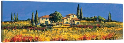 Campagna toscana Canvas Art Print