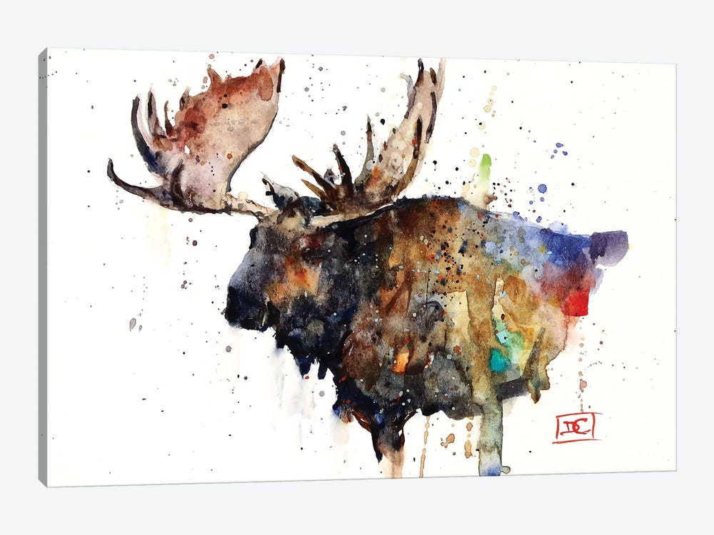 Northern Bull by Dean Crouser 1-piece Canvas Artwork