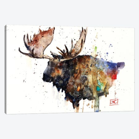 Northern Bull Canvas Print #DCR103} by Dean Crouser Canvas Wall Art