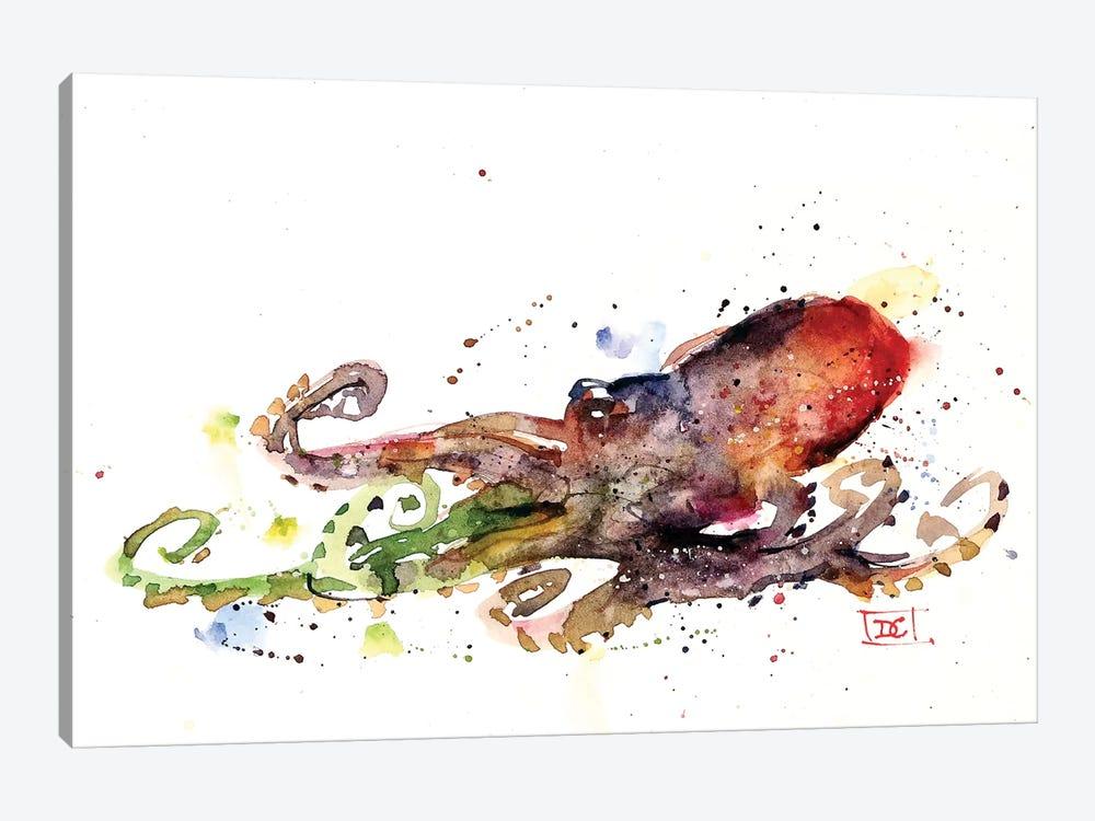 Octopus by Dean Crouser 1-piece Canvas Art Print