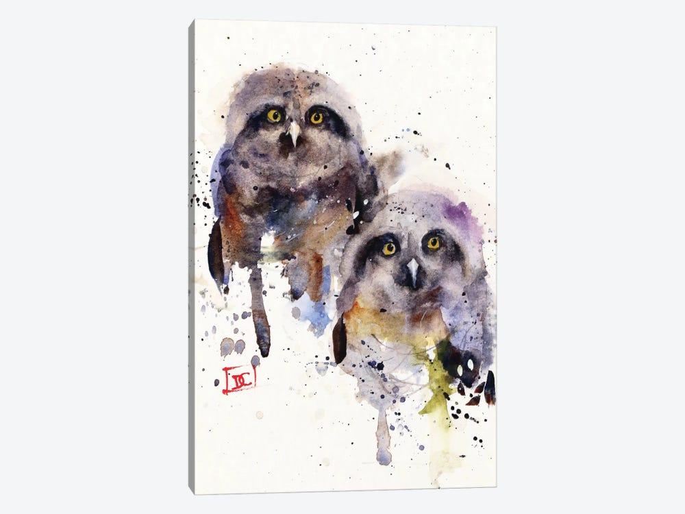 Owlets by Dean Crouser 1-piece Art Print
