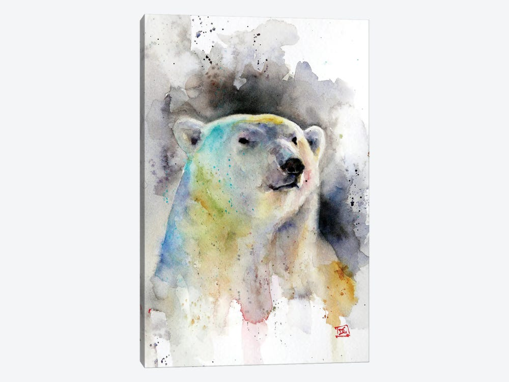 Polar Bear by Dean Crouser 1-piece Canvas Wall Art