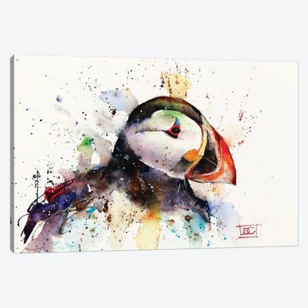 Puffin 3-Piece Canvas #DCR110} by Dean Crouser Canvas Art Print