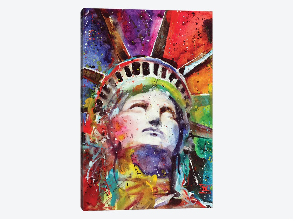 Statue Of Liberty by Dean Crouser 1-piece Canvas Art