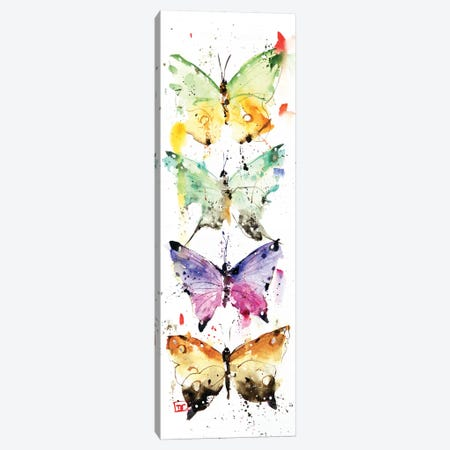 4 Butterflies Canvas Print #DCR118} by Dean Crouser Canvas Print