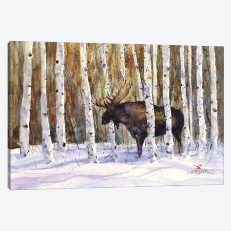A Moment's Rest Canvas Print #DCR119} by Dean Crouser Art Print