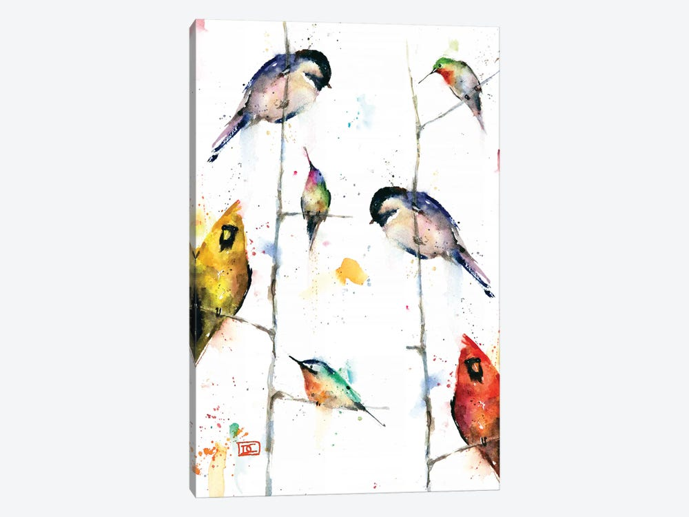 Birds On Branches Art Print By Dean Crouser Icanvas
