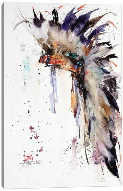 Headdress I Canvas Art Print