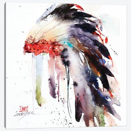 Headdress II Canvas Print #DCR129} by Dean Crouser Canvas Artwork