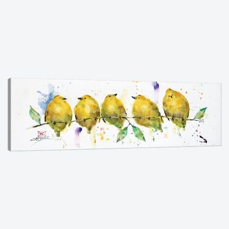 Lemon Birds Canvas Print #DCR133} by Dean Crouser Canvas Print