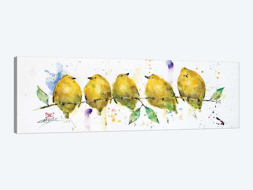 Lemon Birds by Dean Crouser 1-piece Canvas Print