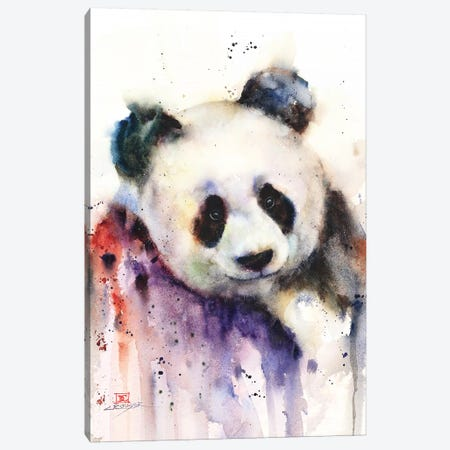Panda Canvas Print #DCR136} by Dean Crouser Canvas Art