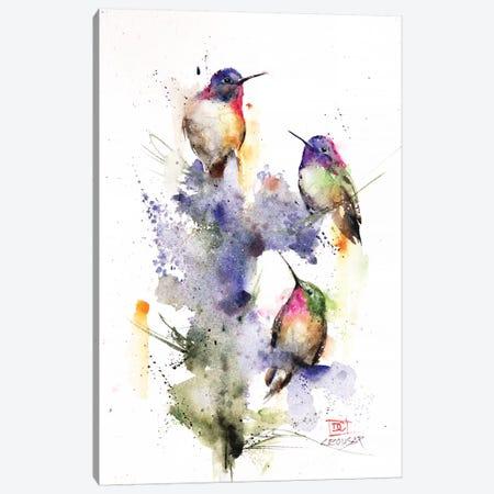 Three's Company Canvas Print #DCR142} by Dean Crouser Canvas Art
