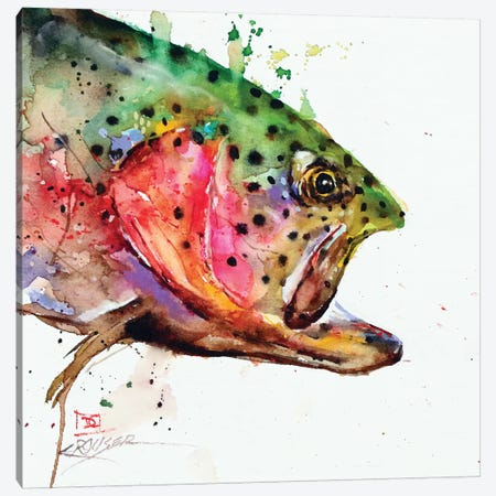 Wild Rainbow Canvas Print #DCR145} by Dean Crouser Canvas Art Print