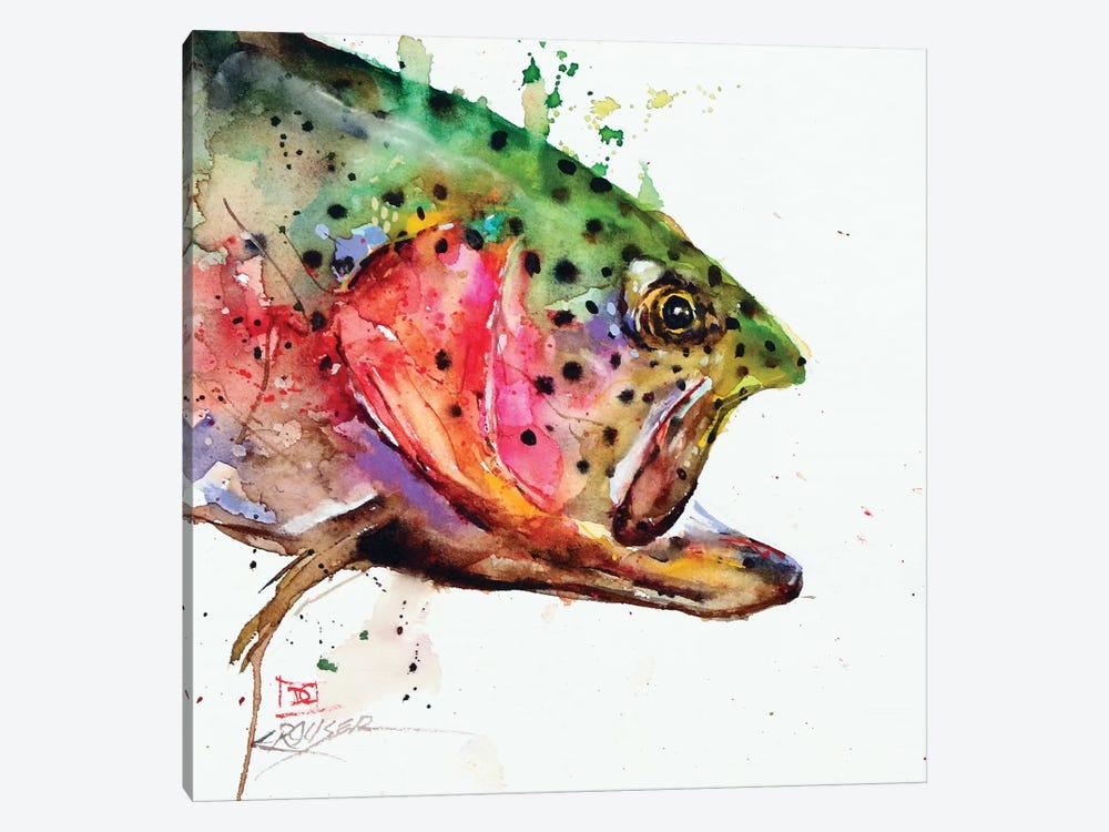 Wild Rainbow by Dean Crouser 1-piece Canvas Wall Art