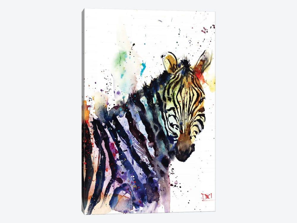 Zebra by Dean Crouser 1-piece Canvas Print