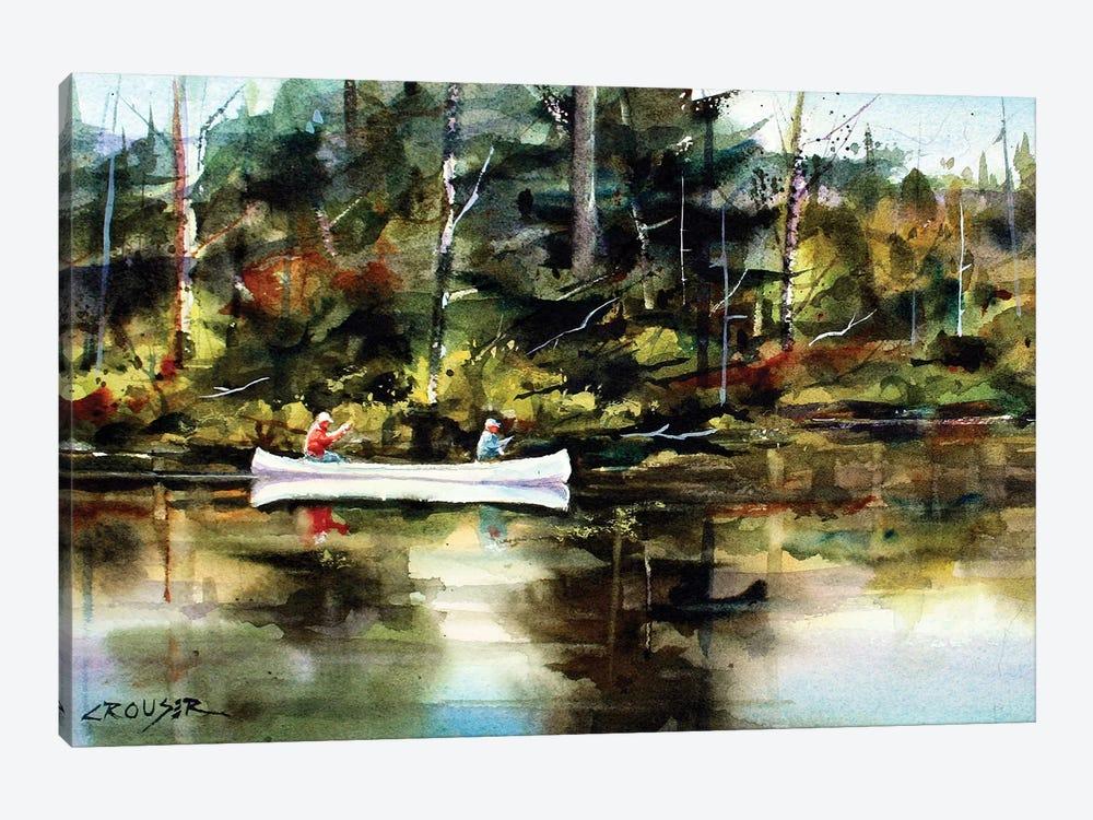 Backwater by Dean Crouser 1-piece Canvas Wall Art