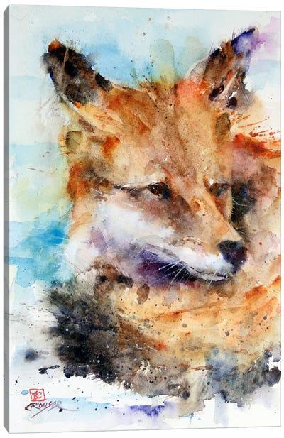 Fox Canvas Print #DCR14