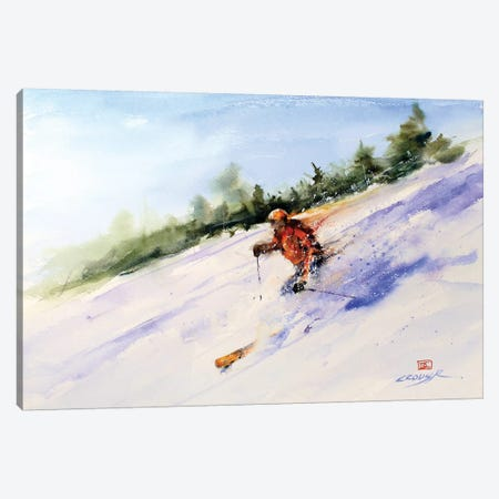 Downhill Master Canvas Print #DCR155} by Dean Crouser Canvas Artwork