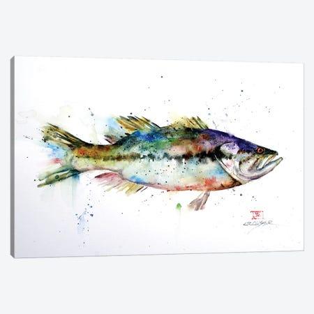 Largemouth Canvas Print #DCR172} by Dean Crouser Canvas Art Print