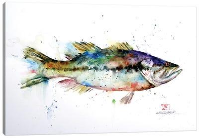 Largemouth Canvas Art Print