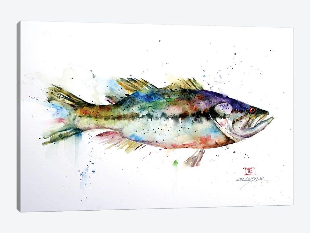 Largemouth by Dean Crouser 1-piece Canvas Artwork