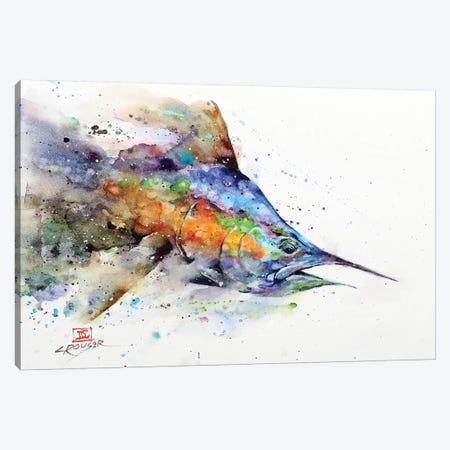 Marlin Canvas Print #DCR173} by Dean Crouser Canvas Print