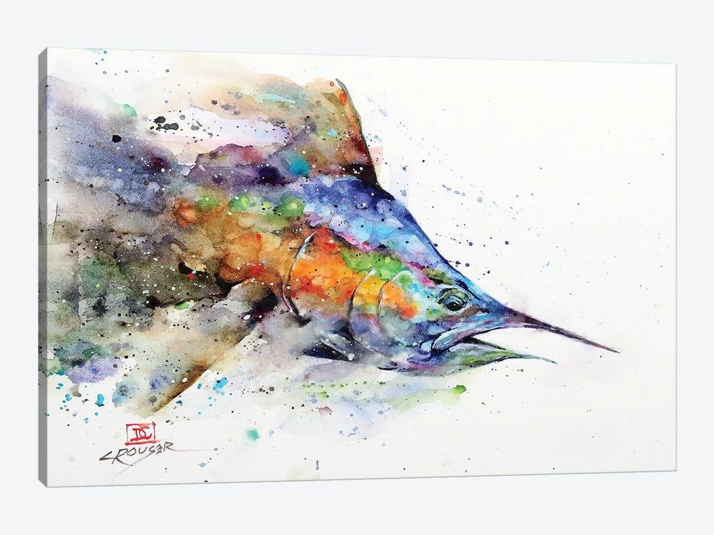 Marlin by Dean Crouser 1-piece Canvas Art Print