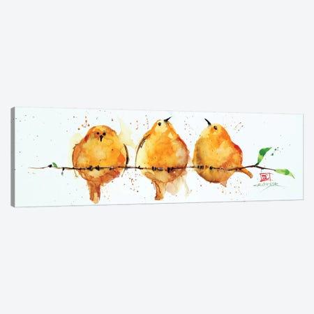 Orange Birds Canvas Print #DCR175} by Dean Crouser Canvas Artwork