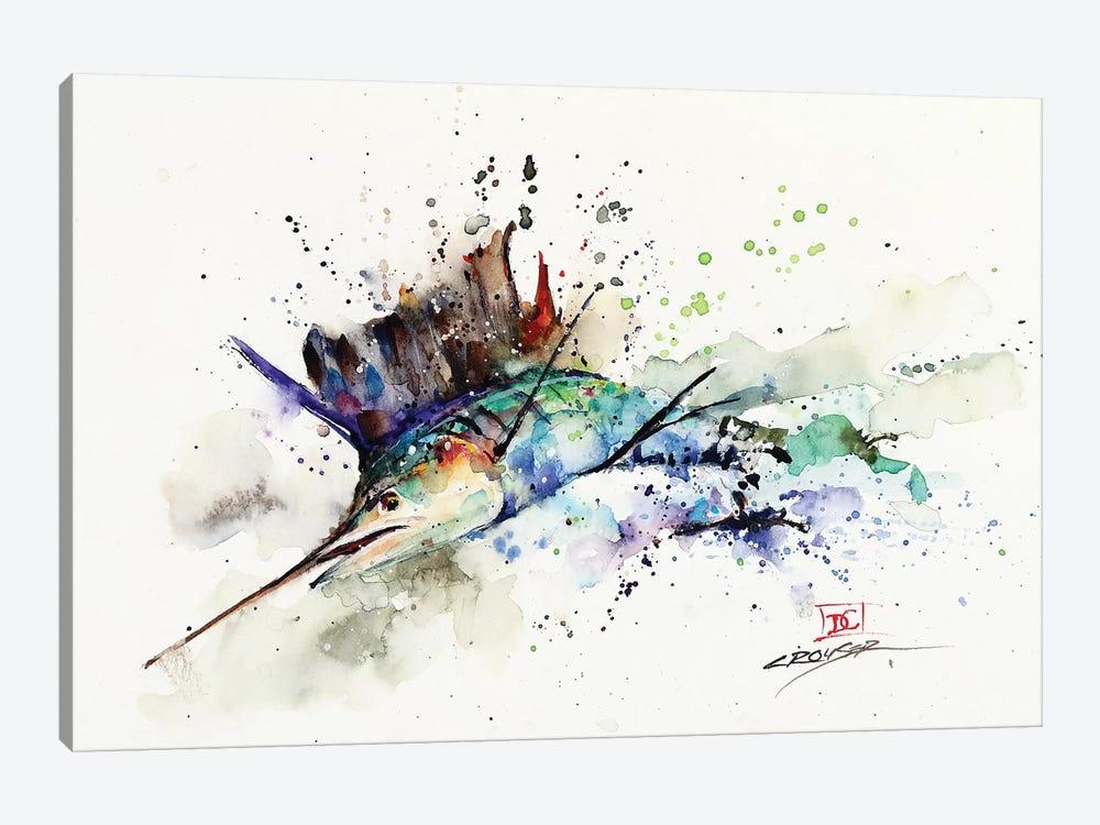 Sailfish by Dean Crouser 1-piece Art Print