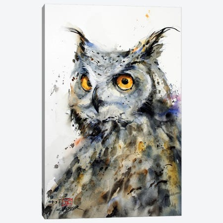The Watcher Canvas Print #DCR181} by Dean Crouser Canvas Art