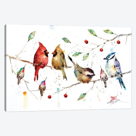 Happy Times Canvas Print #DCR187} by Dean Crouser Canvas Print