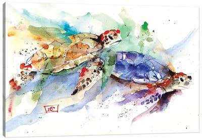 Sea Turtles Canvas Art Print