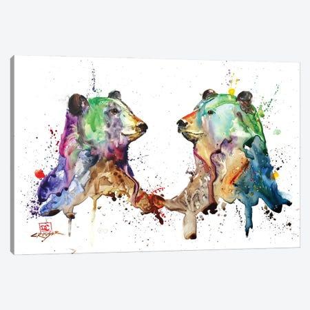 Bear Pair Canvas Print #DCR189} by Dean Crouser Canvas Artwork