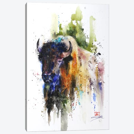 Yak Canvas Print #DCR1} by Dean Crouser Canvas Wall Art
