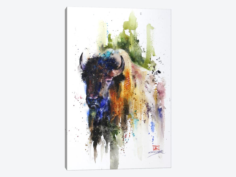 Yak by Dean Crouser 1-piece Canvas Artwork