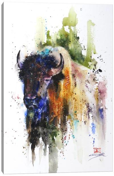 Yak Canvas Art Print