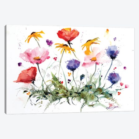 Wildflowers Canvas Print #DCR203} by Dean Crouser Canvas Print