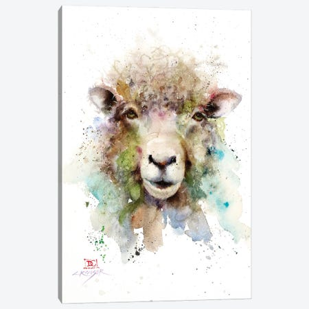 Sheep Canvas Print #DCR204} by Dean Crouser Canvas Art