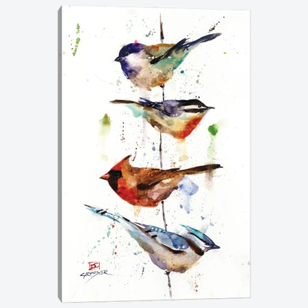 The Perch Canvas Print #DCR205} by Dean Crouser Canvas Art